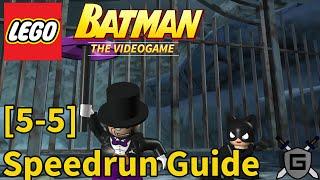 Arctic World - Story Speedrun Guide (LEGO Batman: The Videogame)
