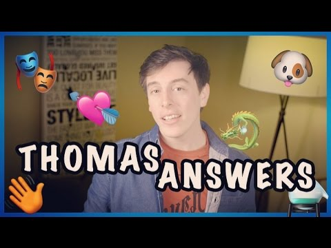 Thomas ANSWERS!! | Thomas Sanders