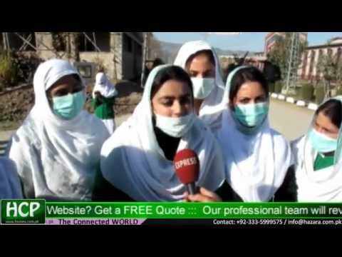 Nurses Protest at Ayube Medical Complex Abbottabad