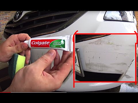 How To Get Rid Of Scratch On Car Bumper