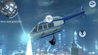Batman The Dark Knight Rises Android Gameplay #12_the helicopter chase