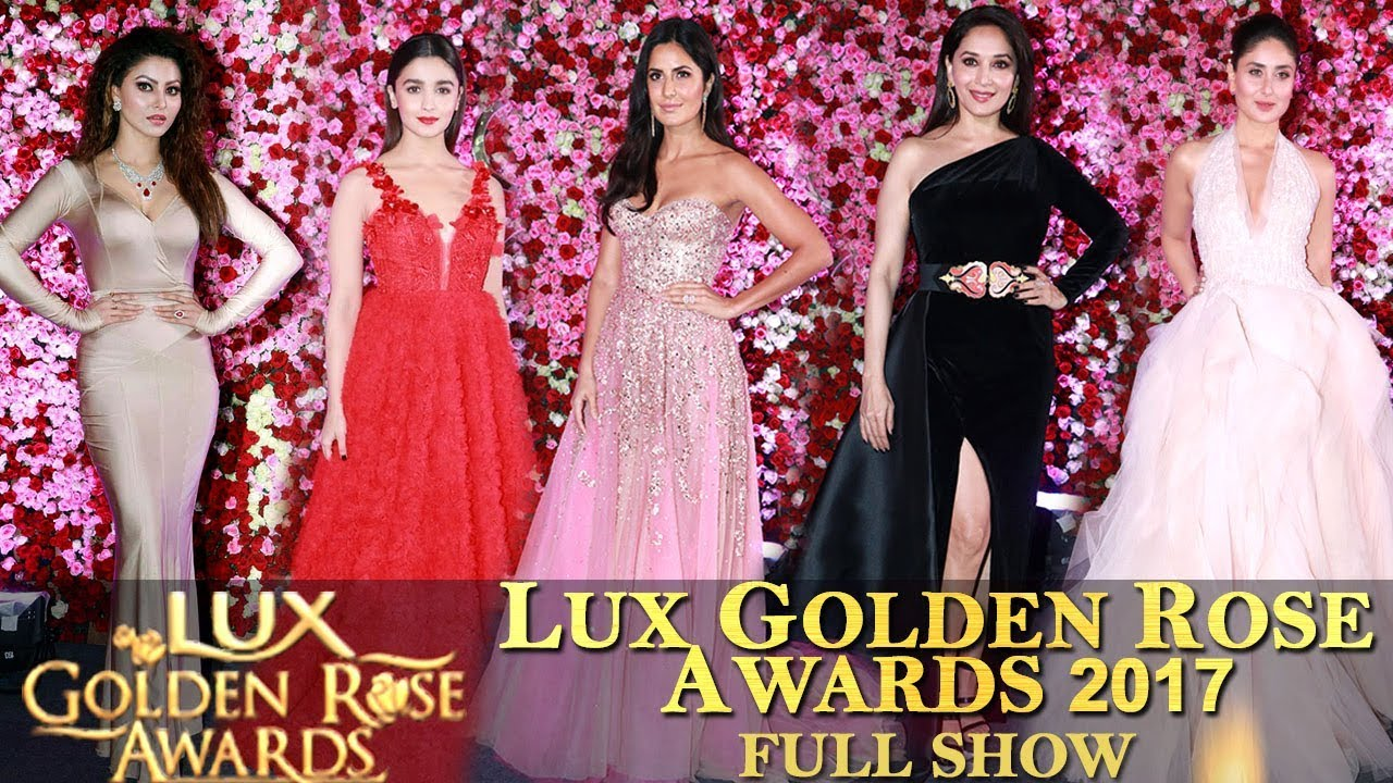 lux golden rose awards 2016 full show free download