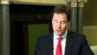 Nick Clegg drops the c bomb