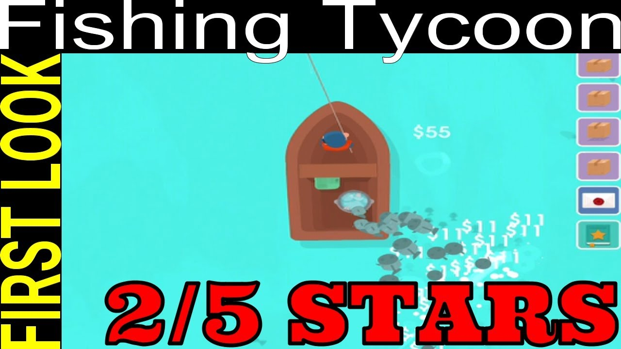 SILLY GAME SKINLESS FINGERS - 2/5 STARS - HOOKED INC: FISHER TYCOON - FIRST  LOOK #1