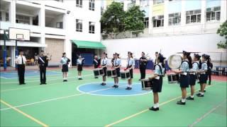 賽馬會官立中學 香港基督少年軍第八十九分隊十五周年立願禮列隊