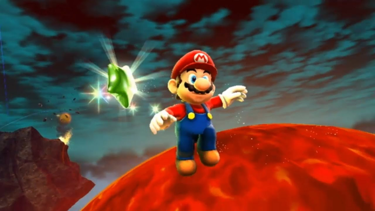 Super Mario Galaxy 2 - All Green Stars - YouTube