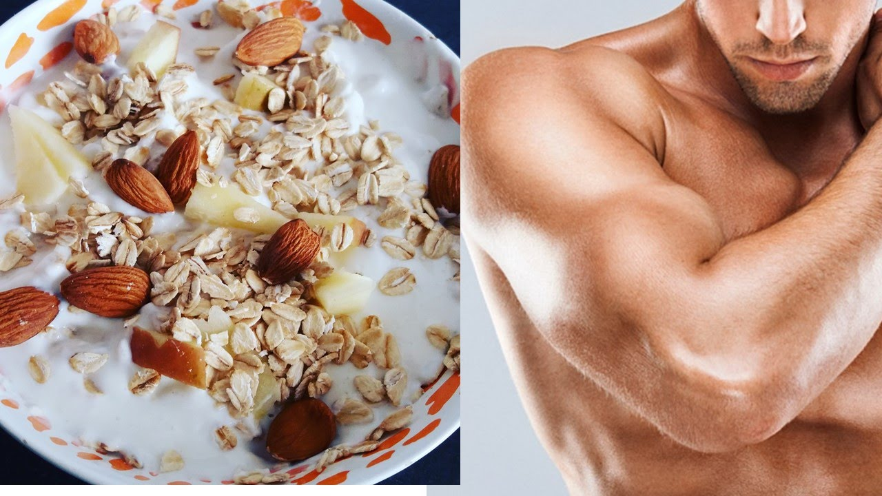 Desayunos para ganar masa muscular mujeres