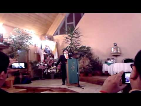 "▶ Tenor Ignacio Gomez Urra Singing ""Ave Maria"" (By Franz Schubert) -- Punta Arenas, Chile"