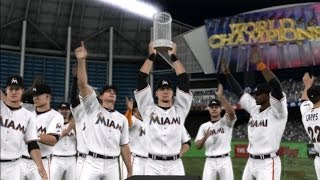 MLB 14: The Show - Miami Marlins World Series Celebration