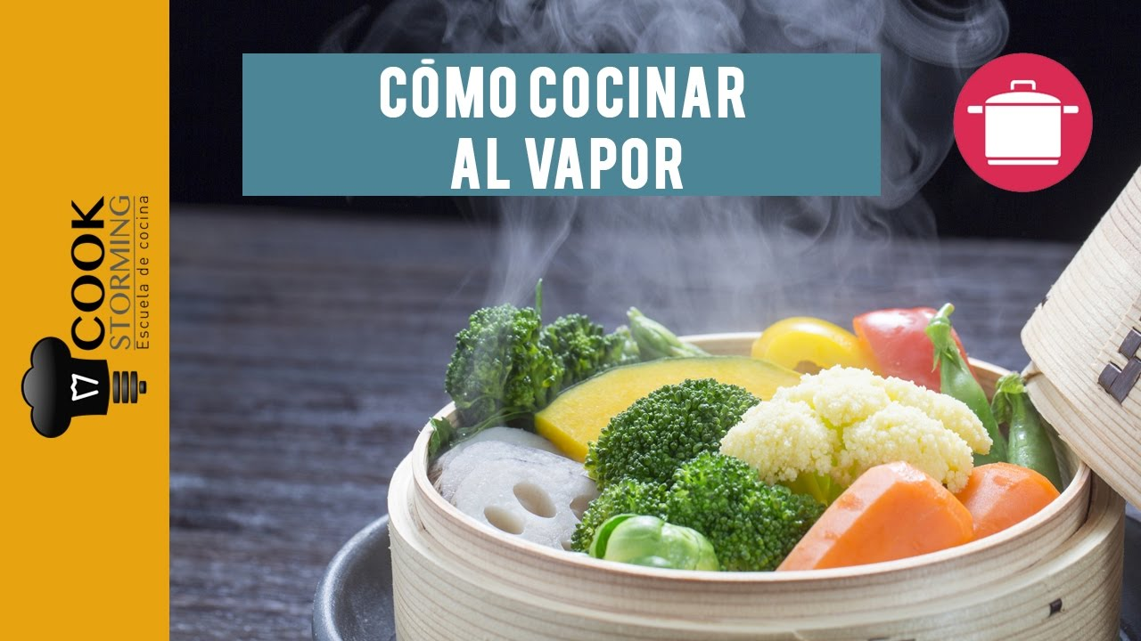 C mo cocinar al vapor youtube for Cocinar al vapor
