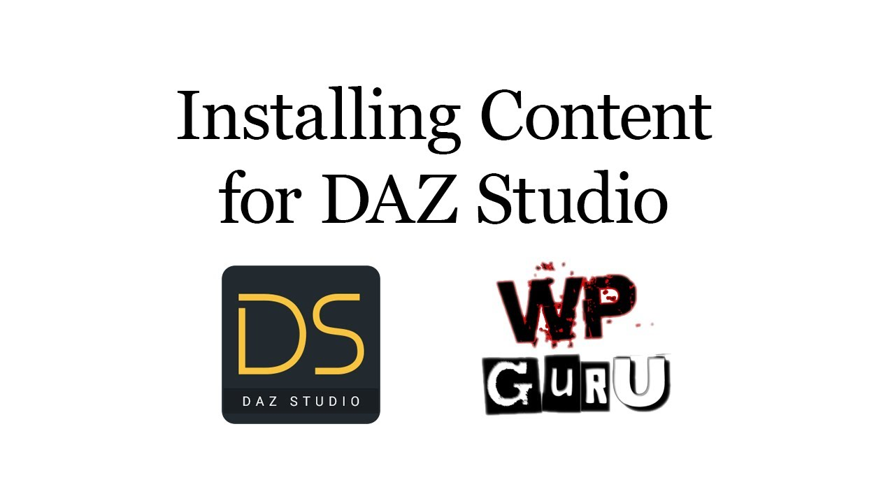 daz install manager download directory