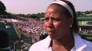 Wimbledon: Girls' Singles runner-up Taylor Townsend talks to Live @ Wim
