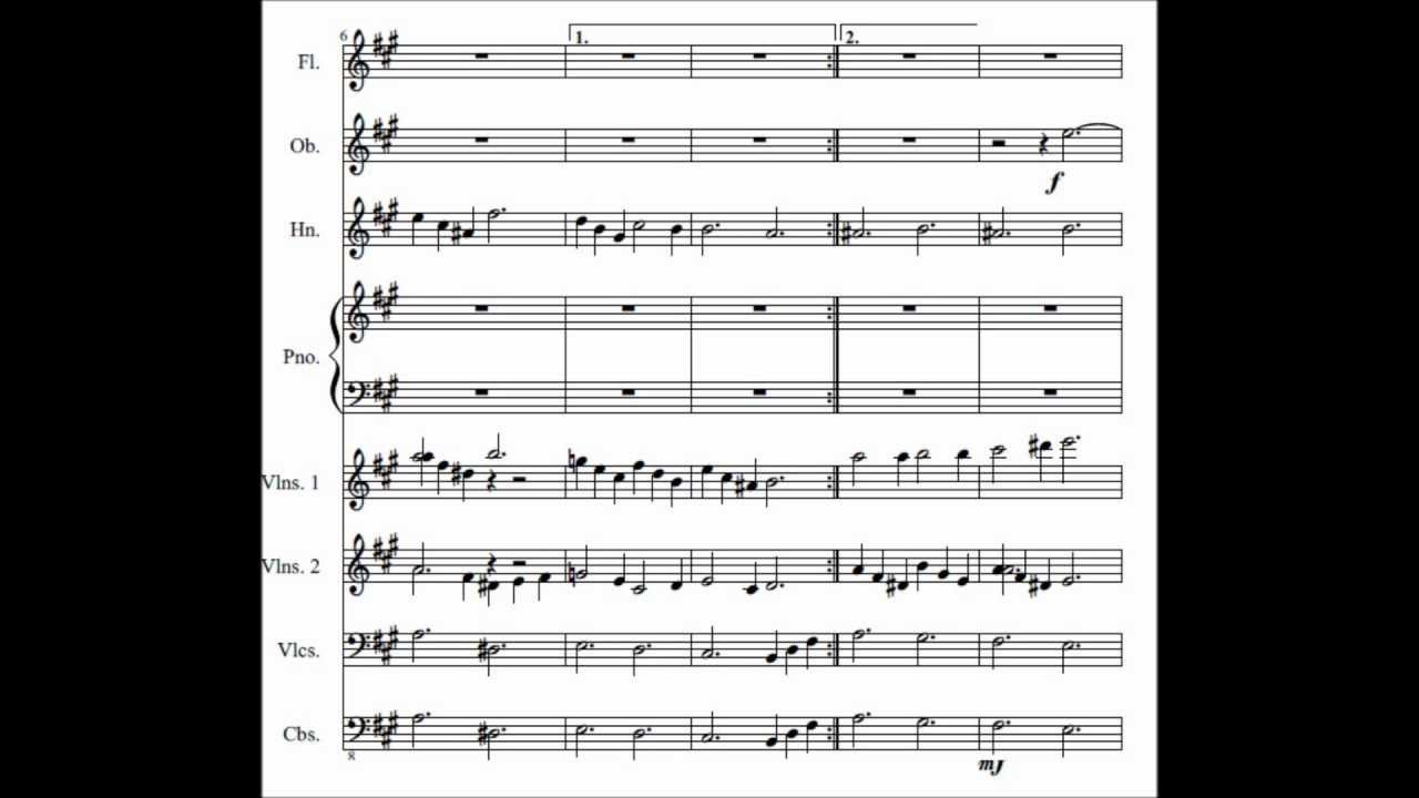 My piano concerto on MuseScore