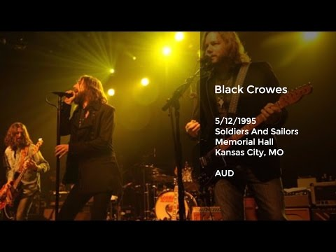Black Crowes Live at Soldiers And Sailors Memorial Hall, Kansas City, MO - 5/12/1995 Full Show AUD