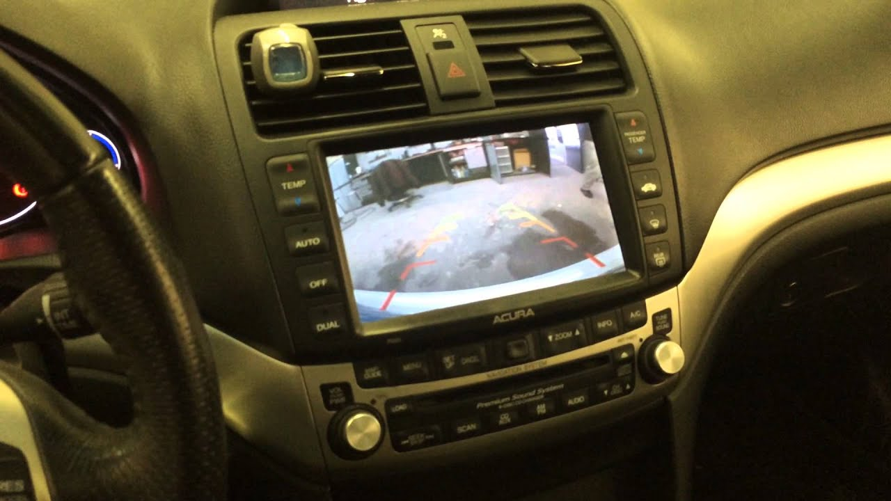 back up back up camera interfaced with oem navigation on 2006