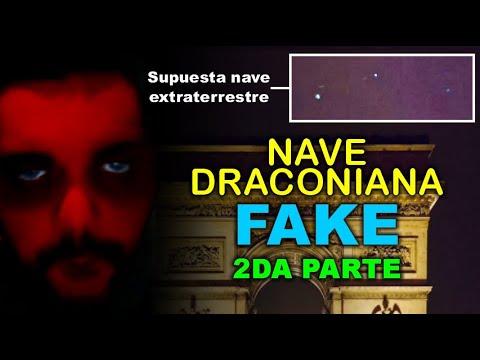 Juan Carlos Cafferatta - FALSO CONTACTADO - NAVE DRACONIANA FAKE - 2da parte