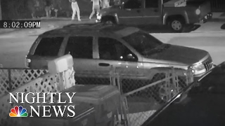 Video Shows Female Armed Robber Ambush, Shoot Family In Florida | NBC Nightly News