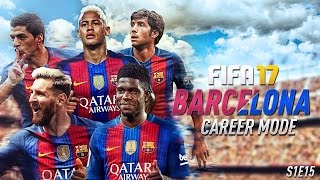 we are unstoppable fifa 17 barcelona career mode ucl round of 16 vs man city s1e15
