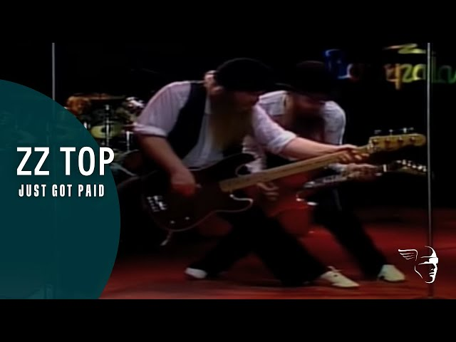 """ZZ Top - Just Got Paid (From """"Double Down Live - 1980"""")"""
