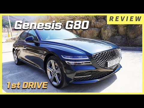 GENESIS G80 2021 1st DRIVE! - Let's DRIVE The All New Genesis G80! Is It Better Than Genesis GV80?