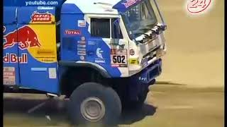 Потери команды «КАМАЗ-мастер» на «Дакаре – 2018»