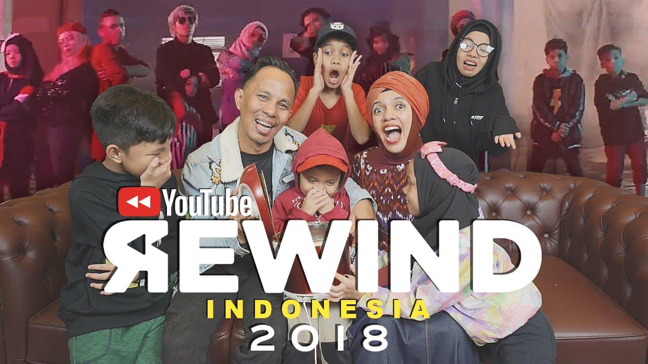 Youtube Rewind Indonesia 2018 Rise Gen Halilintar Reaction Youtube