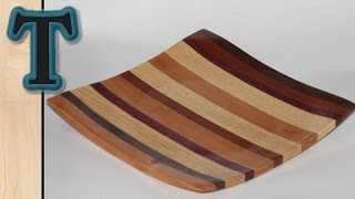 Woodturning Project | Turning A Square Dish Out Of Scrap Wood