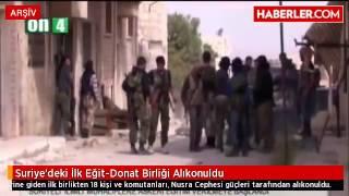 Suriye'deki İlk Eğit Donat Birliği Alıkonuldu