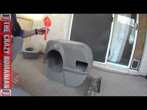 In Depth review   Omega Paw Self Cleaning CAT Litter BOX   Live with Dignity