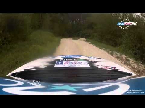 ERC 2013 - Croatia Rally - Day 2