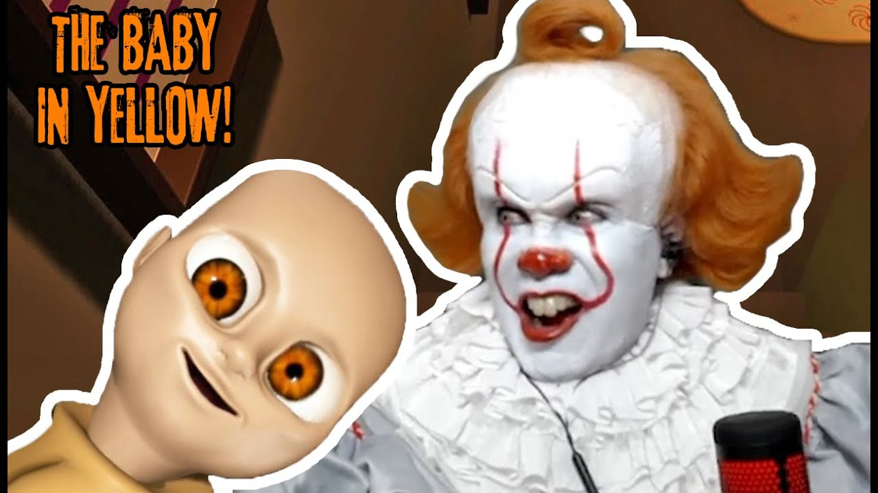 Pennywise Babysits a DEMON BABY! (THE BABY IN YELLOW) | Prince De Guzman