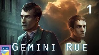 Gemini Rue: iOS iPad Gameplay Walkthrough Part 1 (by Wadjet Eye Games)