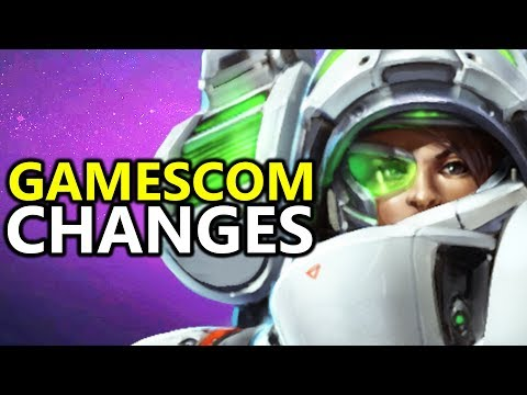 ♥ New Gamescom 2017 LT. Morales Changes - Heroes Of The Storm (HotS)