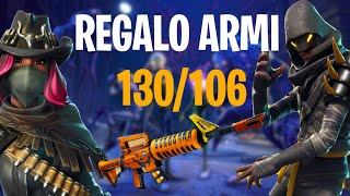 GIVVO ARMI 106/130 AND NEW PATCH Fortnite Save the ITA World