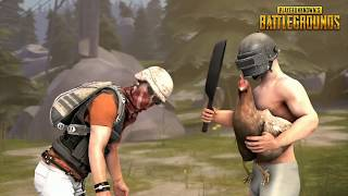 PUBG - Hilarious animation || Dont need level 3 armor (The pan)