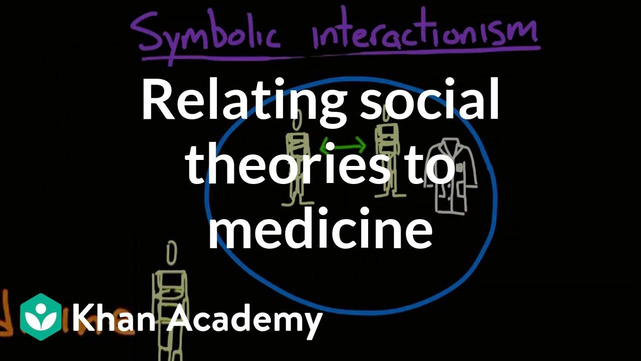 Relating social theories to medicine (video) | Khan Academy