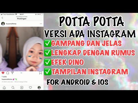 tutorial-edit-vidio-potta-potta-(copines)-versi-instagram-dan-efek-dino