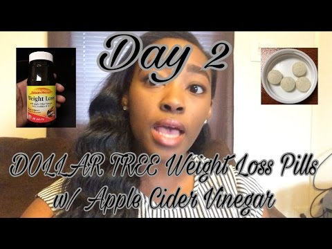 dollar-tree--nature's-measure-weight-loss-pills-day-2--update-|-weight-loss-vlog