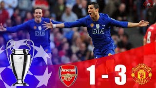 Arsenal vs Manchester United - Champions League Semi Finals 2nd Leg 2008/09 | HD