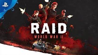 RAID: World War II – CG Trailer | PS4