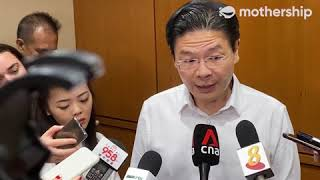 Lawrence Wong gives updates on Wuhan Virus 28 Jan 2020