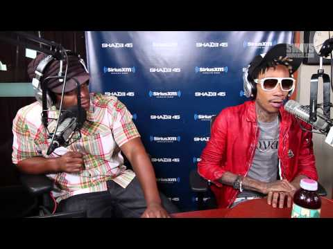 """Wiz Khalifa Performs """"Look What I Got On"""" on Sway in the Morning"""