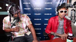 "Wiz Khalifa Performs ""Look What I Got On"" on Sway in the Morning"