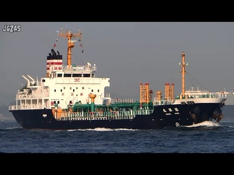 SHOHO MARU 昭邦丸 Oil product tanker 白油タンカー 昭和日タン 関門海峡 2014-SEP