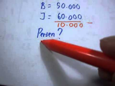 Rumus Matematika Sd Persen Keuntungan Youtube