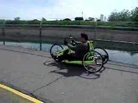 Hand-powered bike