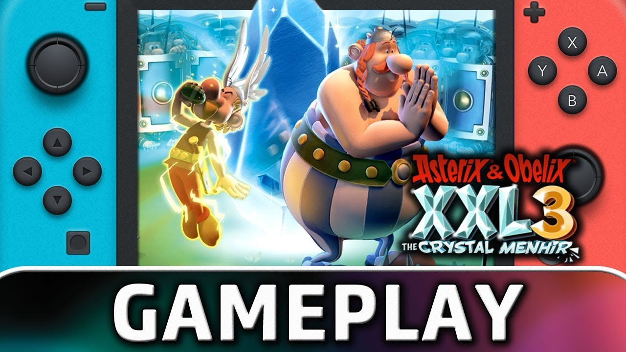 Asterix & Obelix XXL3: The Crystal Menhir | First 10 Minutes on Nintendo Switch