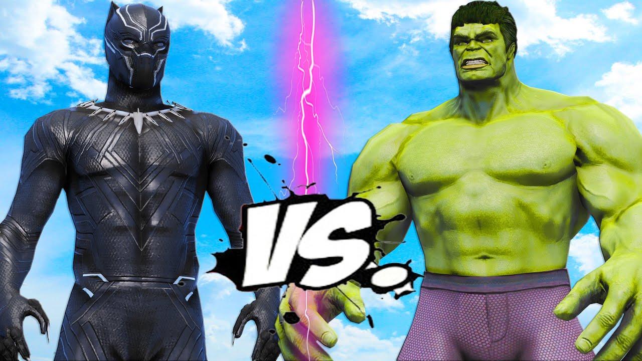 Download HULK VS BLACK PANTHER - SUPERHERO BATTLE