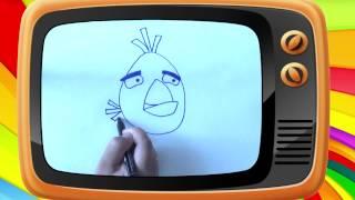 Как нарисовать птичек Angry birds. Часть 2. Оживающие рисунки. Наше_всё!(Маленькие фанаты знаменитой игры с удовольствием научатся рисовать птичек Angry birds. Веселые уроки рисования..., 2014-08-10T16:08:27.000Z)