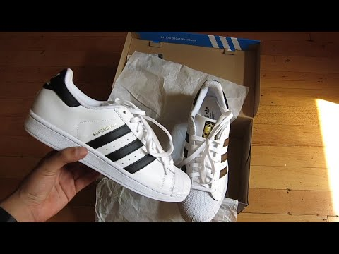 sufrir Sustancialmente Real  Unboxing sneakers Adidas Superstar BW3S SliponW CQ2517 YouTube